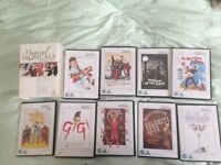Two sets of DVD Classic Musical Greats