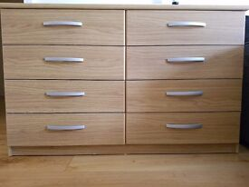 Chest of drawers+Desk+Bedside table+Mirror+Shelves
