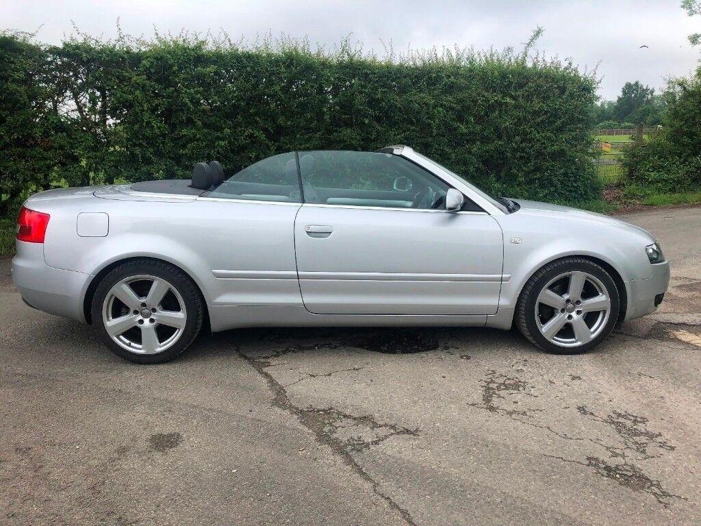 2005 Audi A4 Convertible Automatic