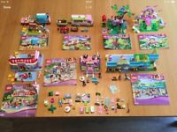 7 x sets of Lego Friends