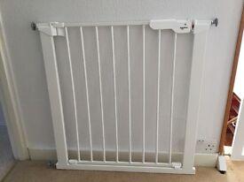 Brand new - still with box - BabyDan Premier True Pressure Fit Safety Gate (White)