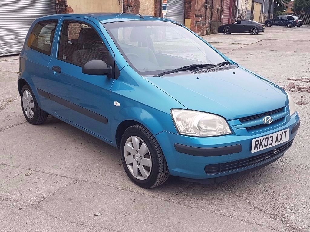 2003 HYUNDAI GETZ 1.3 GSI, PETROL, MANUAL, 3 DOORS HATCHBACK, LONG MOT
