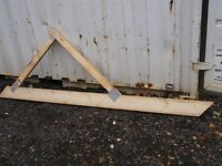 13 x New Lean-to Wooden Roof Trusses