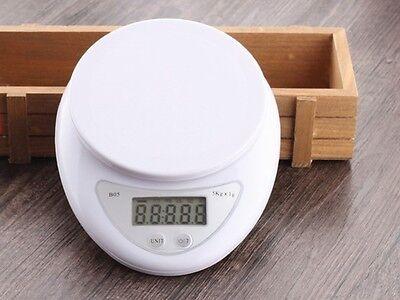 Balanza de Cocina Bascula Digital Pesa Peso Electronica Precision 1G/5KG 5000 gr segunda mano  Embacar hacia Argentina