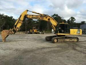 Komatsu PC350-8 Excavator Archerfield Brisbane South West Preview