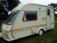 Avondale wren 2 berth caravan full awning no damp 1994 cris regasted