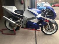 Suzuki GsxR 750 Track Race Bike Great spec Not 1000 600 R1