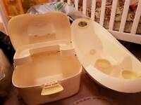 Baby bath and accessories