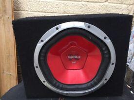 SONY XPLOD PEAK POWER 1200 WATT SUB AMP BASS BOX