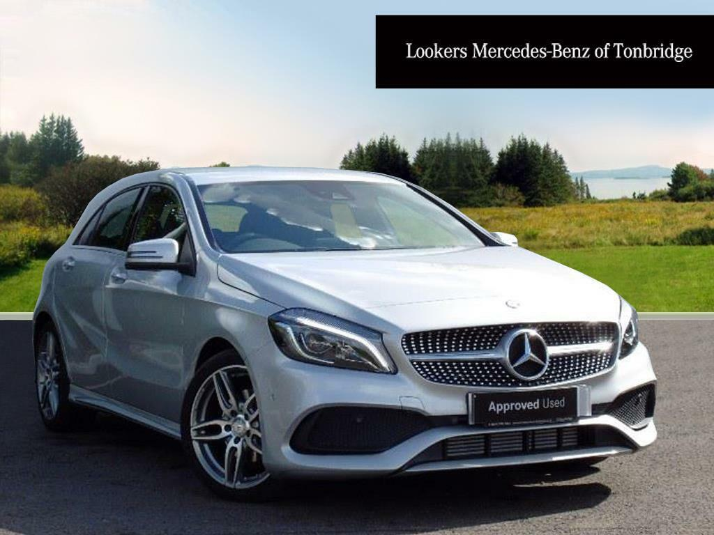 mercedes benz a class a 200 d amg line premium silver 2017 06 14 in tonbridge kent gumtree. Black Bedroom Furniture Sets. Home Design Ideas