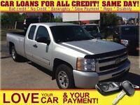 2011 Chevrolet Silverado 1500 LT * AWD * CAR LOANS THAT FIT YOUR