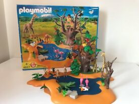 Playmbil - Wildlife Waterhole