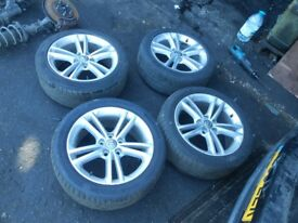 4 x Genuine Vauxhall Insignia Sri 18 Inch Alloy Wheels 245/45 R18