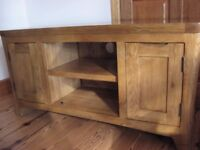 Oak Furniture Land 'Orrick' large TV unit