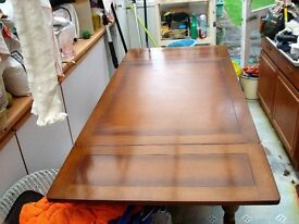 1950's Draw leaf table good condition