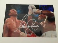 Anthony Joshua hand signed photos - Boxing