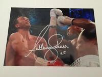 Anthony Joshua hand signed photos - Boxing