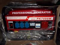 3 PHASE AND SINGLE PHASE 4 STROKE PETROL GENERATOR WITH LOW OIL AUTOMATIC SHUTDOWN