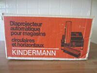 Kindermann Slide Projector & Projector Stand