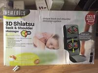 3D shiatsu back and shoulder Massager