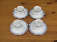 Vintage Mappin and Webb cups and saucers