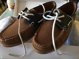 Kurt Geiger Deck boat shoe size 10