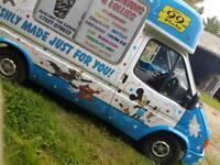 X reg Soft ice cream van