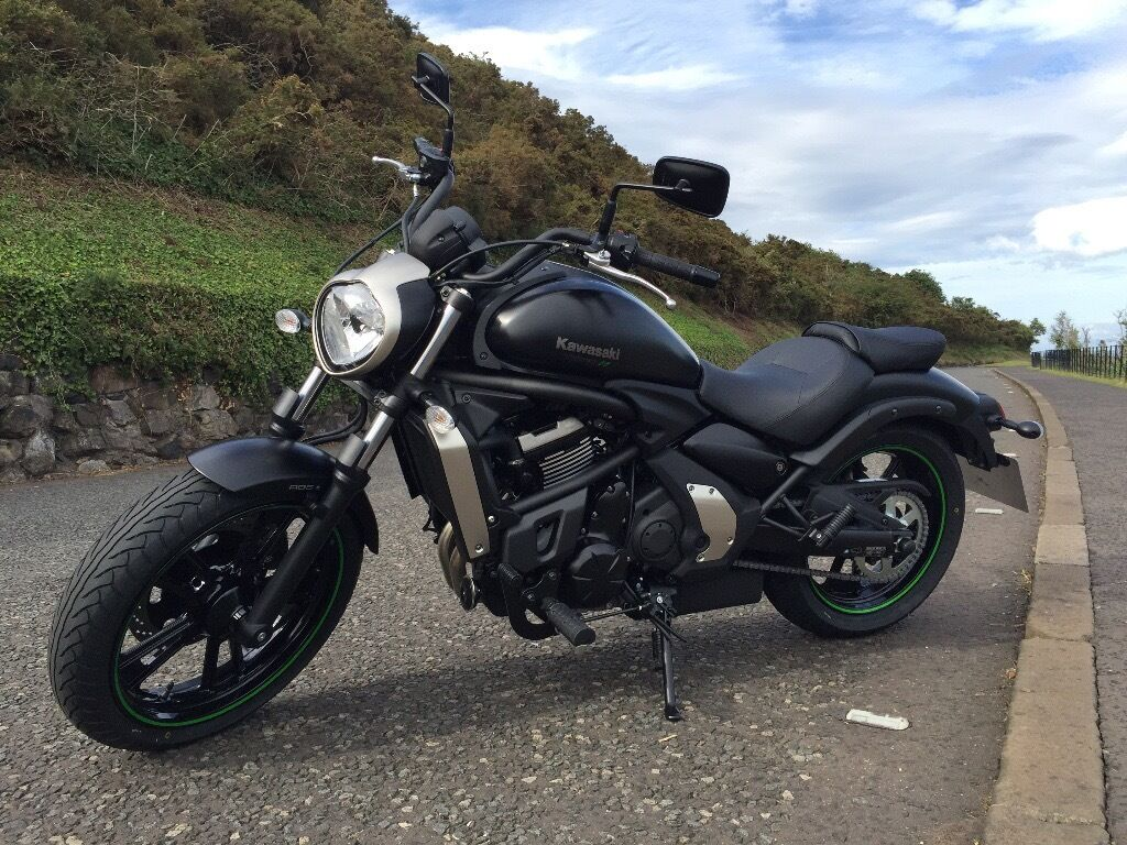 2015 kawasaki vulcan s 650 with luggage rack top box and windscreen in kingston london. Black Bedroom Furniture Sets. Home Design Ideas
