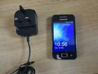 SAMSUNG GALAXY ACE **UNLOCKED ANY NETWORK** Android smartphone
