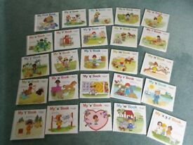 My a to z First reading books Whole set Moncure