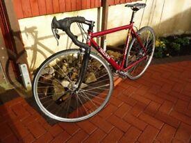 Nelson drop handlebar alloy road bike