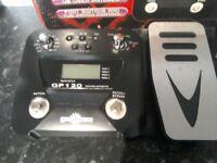 G p 120. Guitar FX pedal