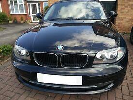 BMW 1 Series 116i Petrol (5 door) Black