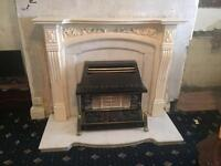 Fireplace and gas for sale