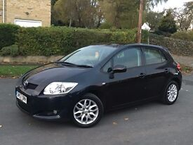 TOYOTA AURIS 1.4 T3 VVTI -PETROL 5 DOOR BLACK