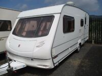 Ace Jubilee 2002 4 berth clean family caravan all ready to use