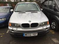 BMW X5 , 3.0d auto , LHD - Left Hand Drive , Export - Spares or Repairs , 0 previous owners