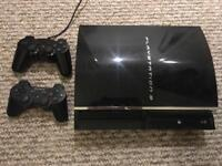 PS3 plus controllers
