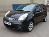 NISSAN NOTE 1.6 ACENTA R 5d AUTO 109 BHP GREAT EXAMPLE OF LOW MILES AUTO ++ FULL YEAR MOT