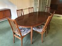 Dining Table Extendable Plus 8No Chairs
