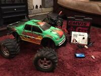 Traxxas e max emax 4wd rc car brushless? Monster truck remote controlled truck