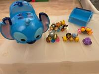 Disney Tsum tsums and stitch carry case