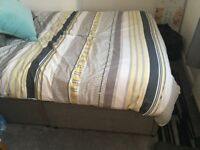 Double Divan Bed with 4 drawers