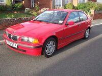 BMW E36 COMPACT (IN BRILLIANT RED)