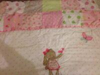 Next Cot bedding full set