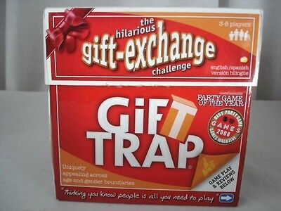 GIFT TRAP Gift-Exchange Game Party Game of the Year 2008 English-Spanish Version