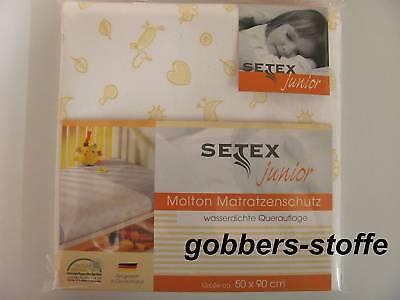 Matratzenschutz für Kinder Molton wasserdicht 50x90 Auflage Kinderbett