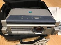 SONY PC / Laptop Projector. Complete with Remote Control. Monitor / Like Big Screen TV 55 65 75