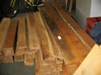 solid oak beams (reclaimed) various sizes