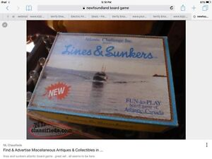 Lines and Sunkers Board Game